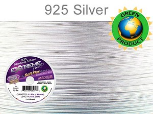 EXTREME Flex Wire, .019 Dia. 50ft, 19 Strand Sterling Silver