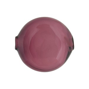 Amethyst Solid Color Penny  20mm