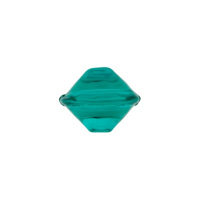 Venetian Bead Bicone Cut 13x11mm Sea Foam