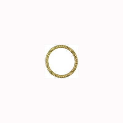 Base Metal Spring Ring 8mm, Bright Gold Tone
