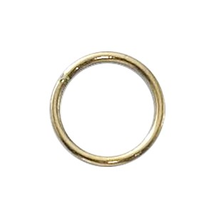 "Gold Filled Jump Ring Closed .039""/8MM 18 GA Per Piece"