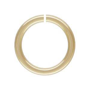 6mm Gold Filled Jump Ring Open. Per Piece