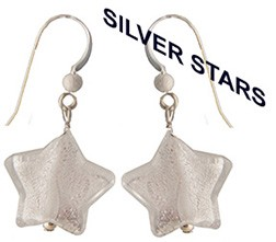 Silver Stars Earring Kit, Sterling