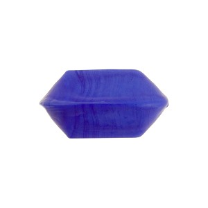 Venetian Bead Bicone Cut 18x10mm Opaque Cobalt Blue