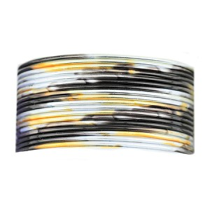 Beadalon 20 Gauge Silver, Gold and Black Artistic Wire, 4 Yards